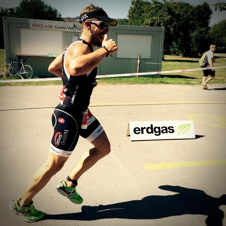 triathlon course à pied