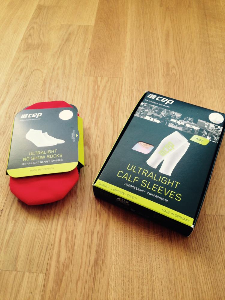 ultralight calf sleeves Package
