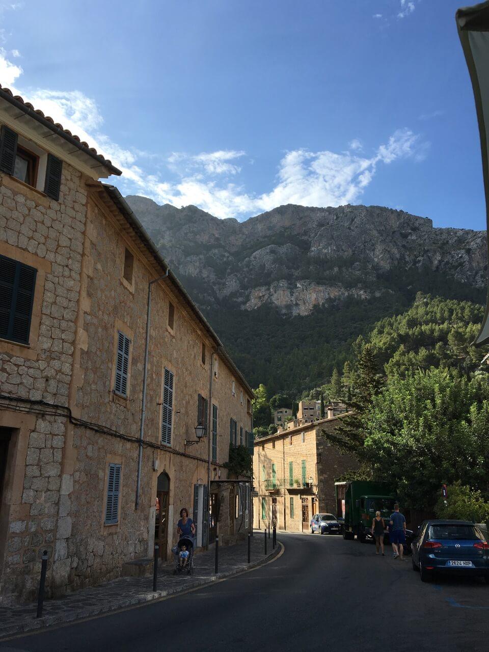 Photo d'un village de majorque