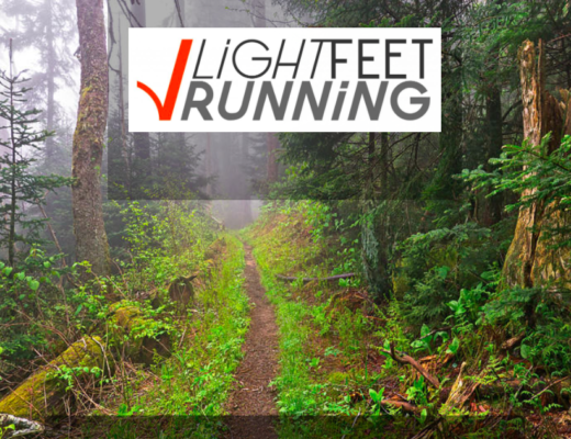 lightfeetrunning logo