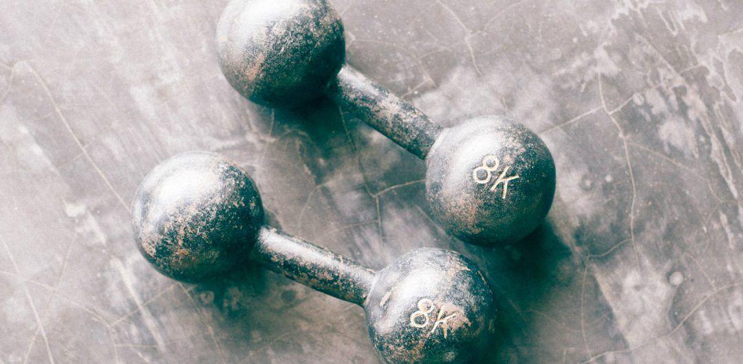 Photo d'altères pour la musculation