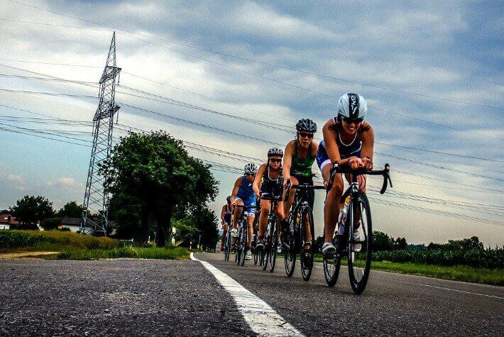 competition de triathlon