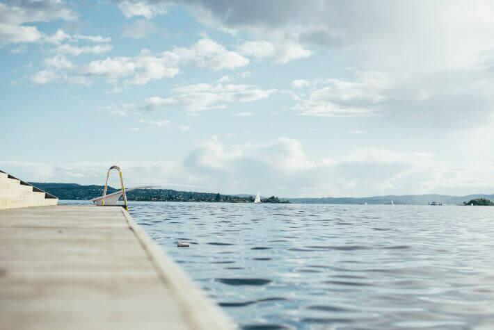Bassin pour entrainements en eaux libre